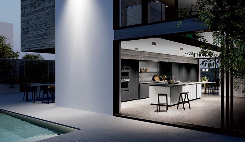 Cucine moderne e l'arredamento di design
